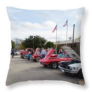 Showing The Ride Throw Pillow