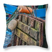 Shrimpboat Tools Of The Trade Throw Pillow