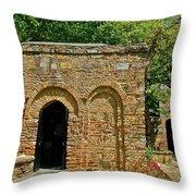 Shrine To Mary-meryem Ana Evi-turkey Throw Pillow