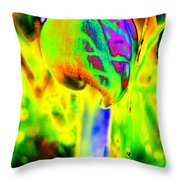 Shroooms Throw Pillow
