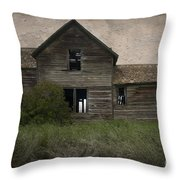 Shrouded In Mystery Throw Pillow