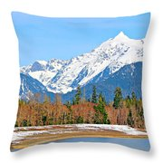 Shuksan Throw Pillow