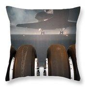 Shuttle Tires Throw Pillow