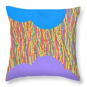 Siblings 1 Throw Pillow