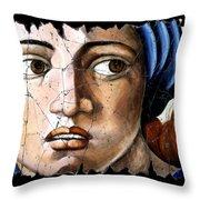 Sibyl Of Delphi Throw Pillow