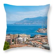 Sicily And Italy Throw Pillow