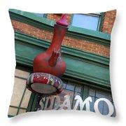 Sidamo Coffee House Throw Pillow