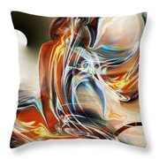 Siddhartha Throw Pillow