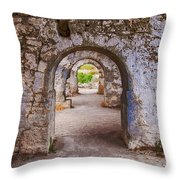 Side Byzantine Hospital 04 Throw Pillow