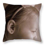 Side Glow Throw Pillow