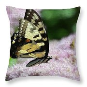 Side Line 2 Throw Pillow