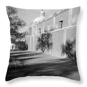 Side View Mission San Jose De Tumacacori Tumacacori Arizona 1979 Throw Pillow