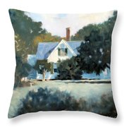 Side Yard Throw Pillow