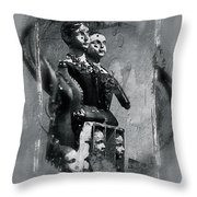 Sidebyside Throw Pillow