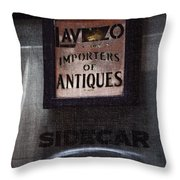 Sidecar Throw Pillow