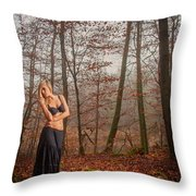 Sideview Throw Pillow