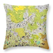 Sidewalk Abstract-16 Throw Pillow