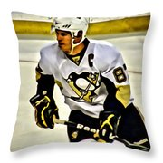 Sidney Crosby Throw Pillow