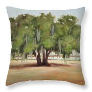 Sidney Lanier's Muse Throw Pillow
