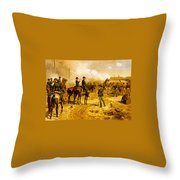 Siege Of Arlanta Throw Pillow