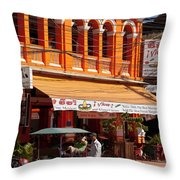 Siem Reap 01 Throw Pillow