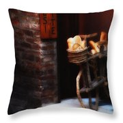 Siena Bakery Throw Pillow