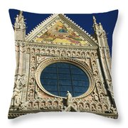 Sienna Cathedral Throw Pillow
