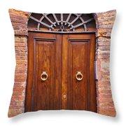 Sienna Door Throw Pillow