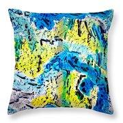 Sierra Amarilla Throw Pillow
