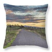Sierra Foothills Throw Pillow