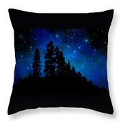Sierra Foothills Wall Mural Throw Pillow