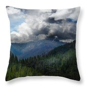 Sierra Nevada Lighting Strike Throw Pillow