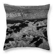 Sierra Nevada Shadows Throw Pillow