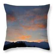 Sierra Nevada Sunrise Throw Pillow