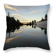 Sierra Reflection II Throw Pillow
