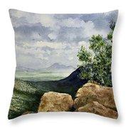 Sierra San Jose From Montezuma Pass Throw Pillow
