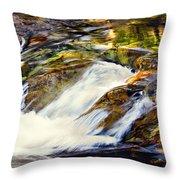Sierra Snow Melt 2 Throw Pillow