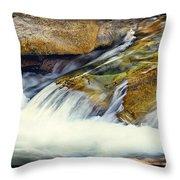 Sierra Snow Melt Throw Pillow