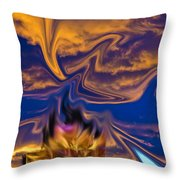 Sierra Sunset Throw Pillow