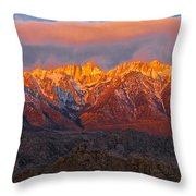 Sierra Wave 1 Throw Pillow
