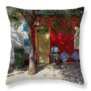 Siesta In Boa Vista Throw Pillow
