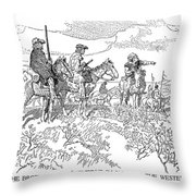Sieur De La Verendrye (1685-1749) Throw Pillow