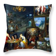 Sight And Smell  Throw Pillow