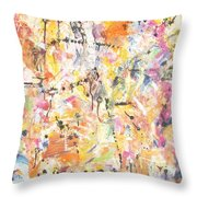 Sight Throw Pillow by Chaline Ouellet