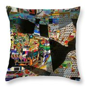 Sighting Towards A Full Redemption 3d Throw Pillow