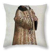 Sigismund Von Herberstein (1479-1533) Throw Pillow