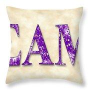 Sigma Alpha Mu - Parchment Throw Pillow