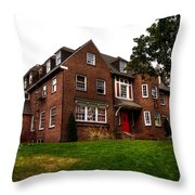Sigma Phi Epsilon Fraternity On The Wsu Campus Throw Pillow by David Patterson