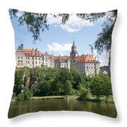 Sigmaringen Castle 4 Throw Pillow