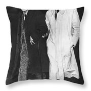 Sigmund Freud In Exile Throw Pillow